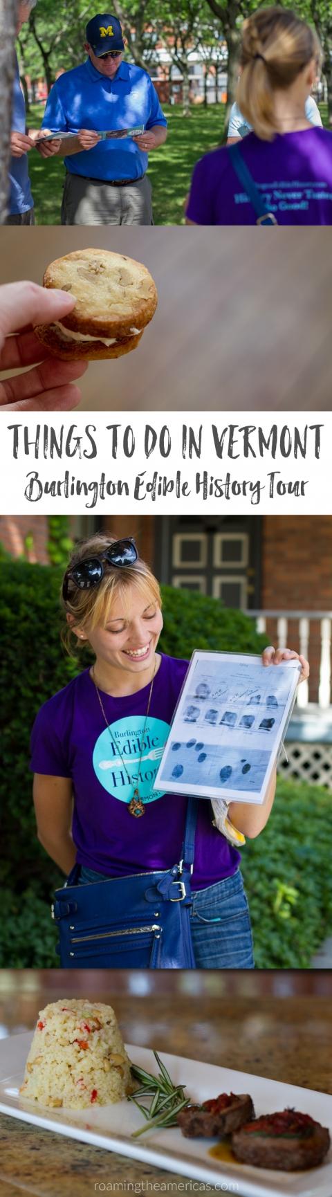 Burlington, Vermont Travel - Things to do in Vermont - Burlington Edible History Tour - walking food tours @roamtheamericas
