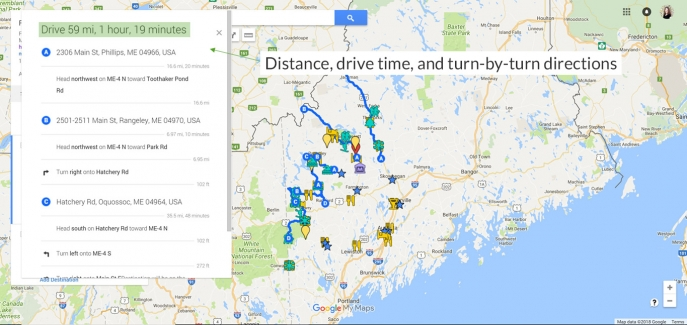 The Ultimate Guide To Using Google My Maps To Plan A Trip Tutorial - Map my vacation route