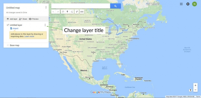 The ultimate guide to using google my maps to plan a trip tutorial to move a pin between layers click the pin on the layer and hold down the mouse and then drag it to the desired layer gumiabroncs Image collections