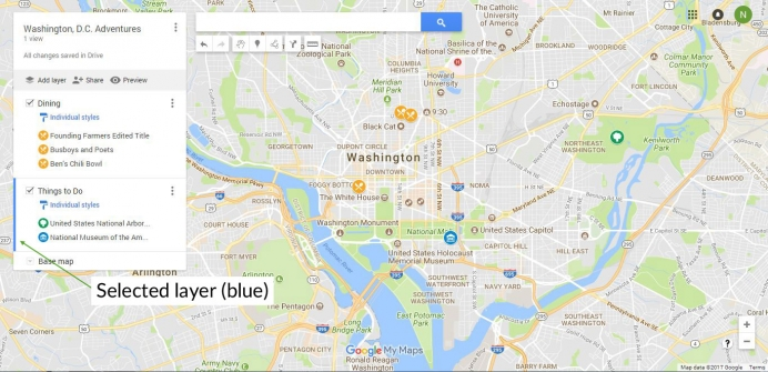The Ultimate Guide To Using Google My Maps To Plan A Trip Tutorial - Google maps trace my route