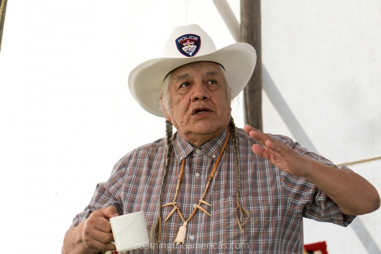 Elder Bruce Starlight of Tsuutina First Nations Calgary