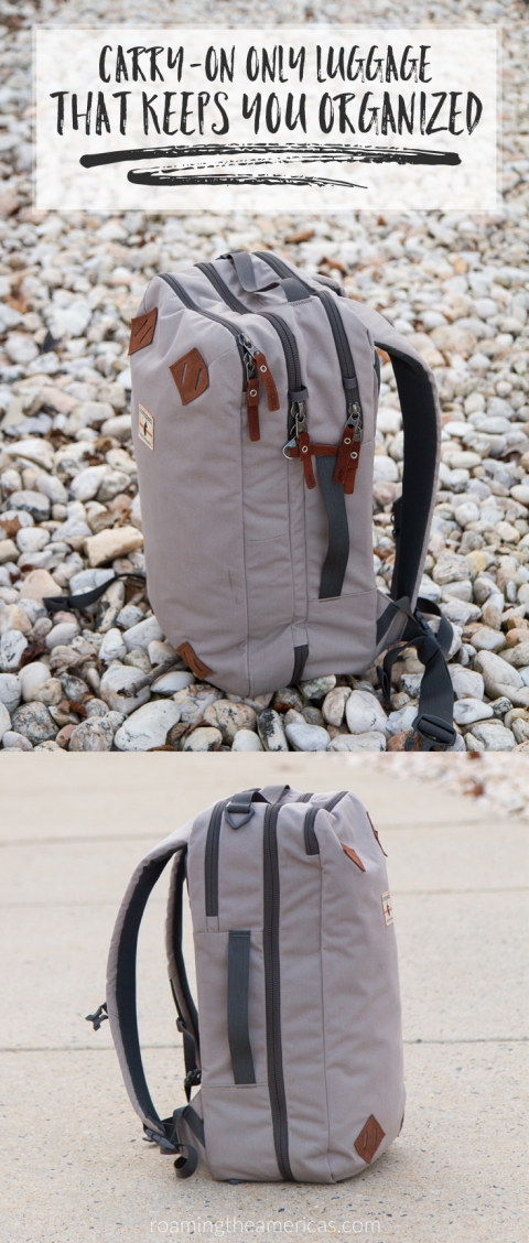 Carry-on only luggage   Convertible suitcase backpack   Travel backpack review   Cotopaxi Nazca 24L @roamtheamericas