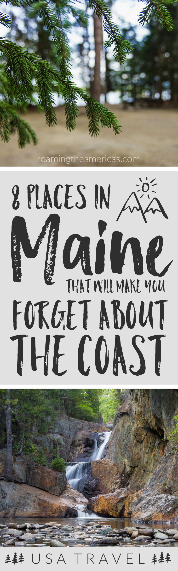 Looking for the best things to do in Maine? If you're craving a quiet, off-the-beaten-path adventure, check out this local's guide for 8 of the best spots in central and western Maine! New England travel | Maine vacation | nature and outdoor adventure #roamingtheamericas #maine #mainelife #mainevacation #newengland #bucketlist #roadtrip