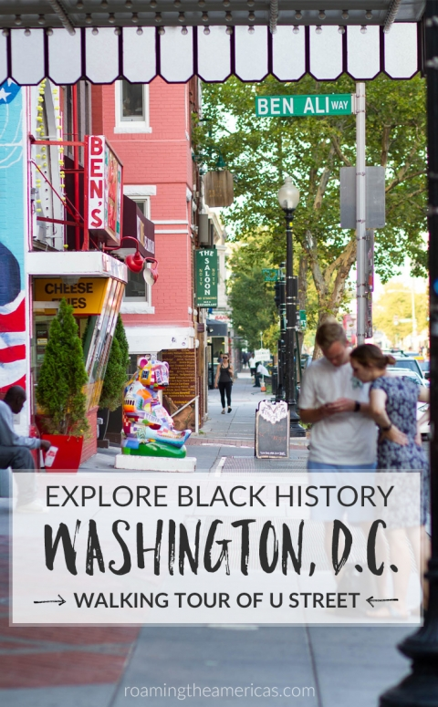 unique things to do in washington, d.c. that aren't museums | non-touristy things to do in DC | free walking audio tour of washington, d.c. neighborhood | african american history DC | black history on U Street | USA travel