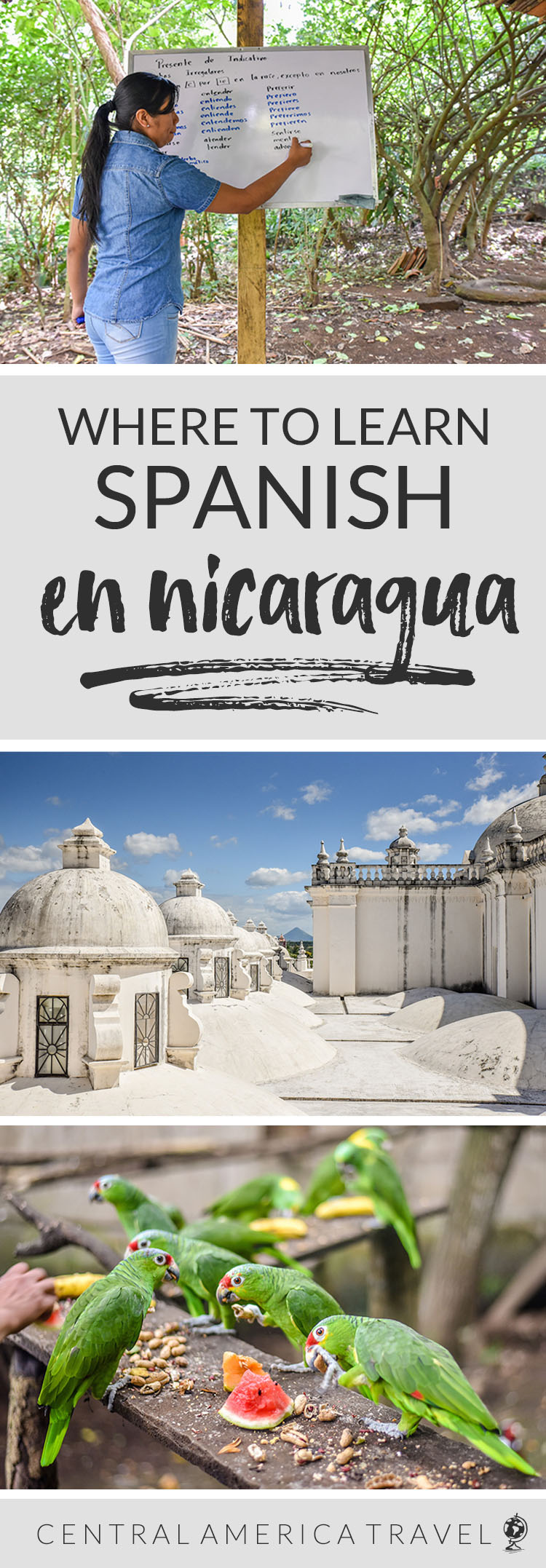 Where to learn Spanish in Nicaragua | language learning schools in Central America | learning Spanish in Latin America while traveling | Nicaragua travel