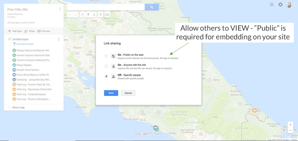 the ultimate guide to using google my maps to plan a trip tutorial
