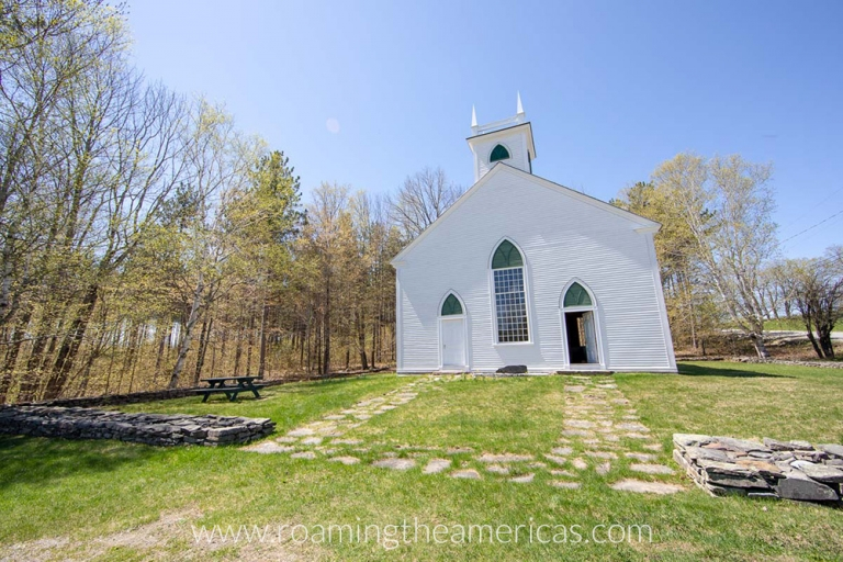 South Solon Meetinghouse in Solon, Maine